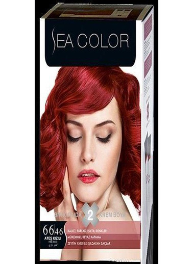 Sea Sea Color 2 Li Saç Boyası 66-46 Kırmızı